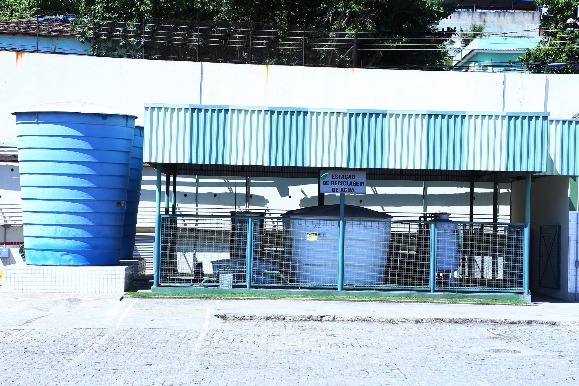 Estação de reúso de água