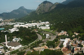 Aerial view of Estúdios Globo (formerly Projac). Photo: Renato Rocha Miranda / TV Globo