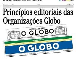 Release of Organizações Globo Editorial Principles