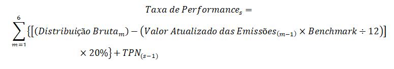 Taxa de Performance 1