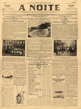 Release of A Noite newspaper