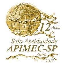Selo Assiduidade Ouro APIMEC-SP 2017