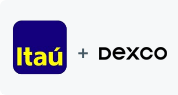Logo Itaú e Duratex