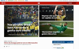 Release of Globo.com's G1 news portal