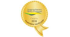 Qualificação Ouro no Programa Brasileiro GHG Protocol