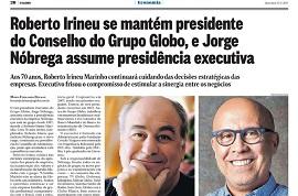 New executive president of Grupo Globo