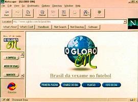 Release of Globo On Line, website of O Globo newspaper
