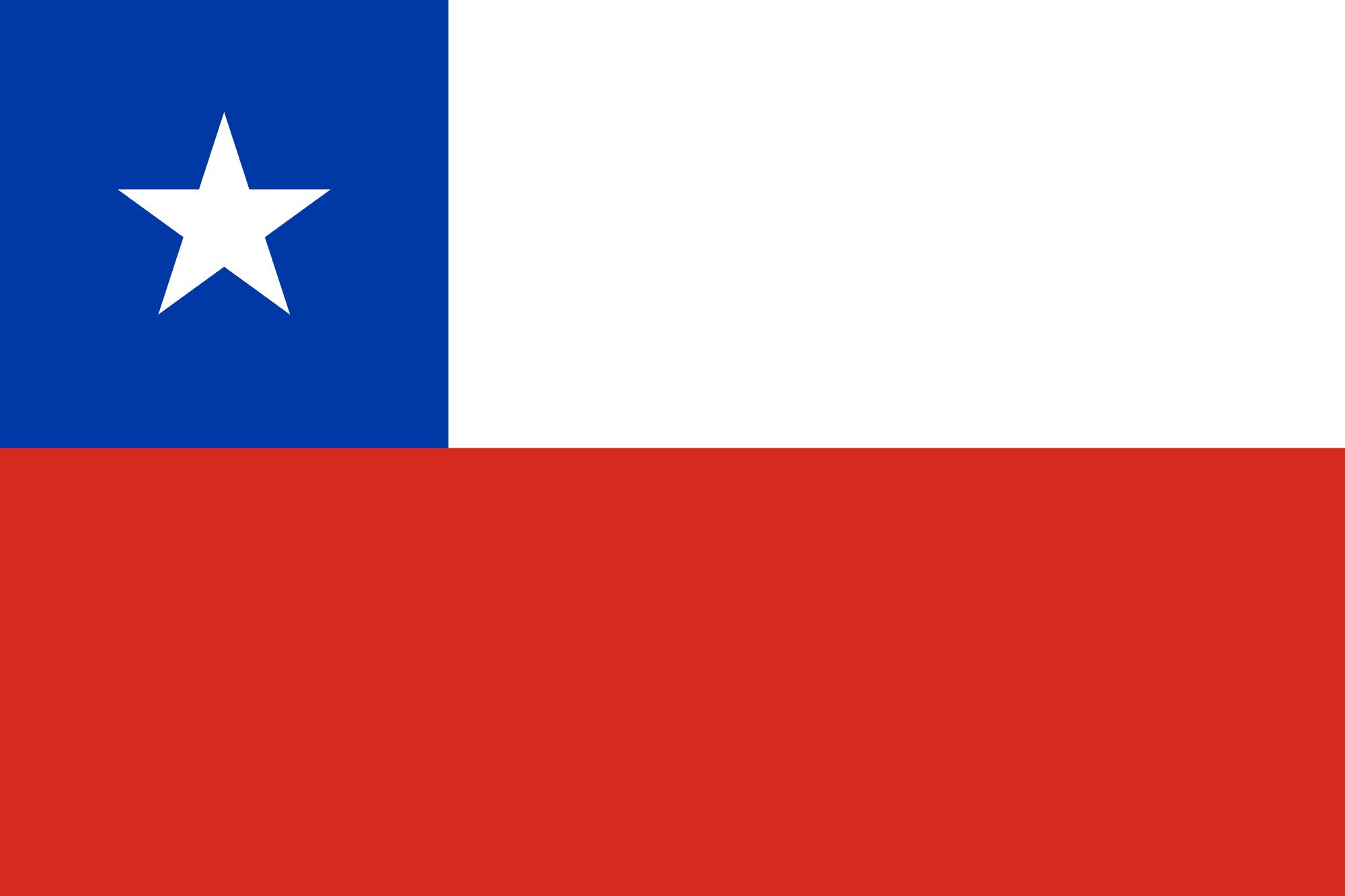Bandera del Chile