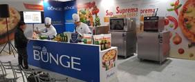 Prática e Bunge juntas na 7º Expo Pizzaria Atacadão