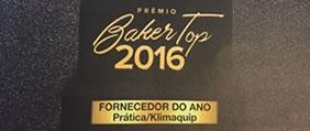 Prática é a empresa mais premiada no Baker Top 2016