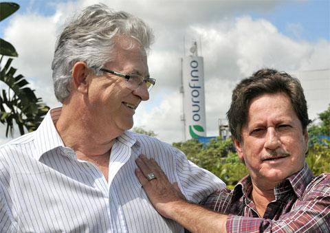 Fundadores - Srs. Norival Bonamichi e Jardel Massari
