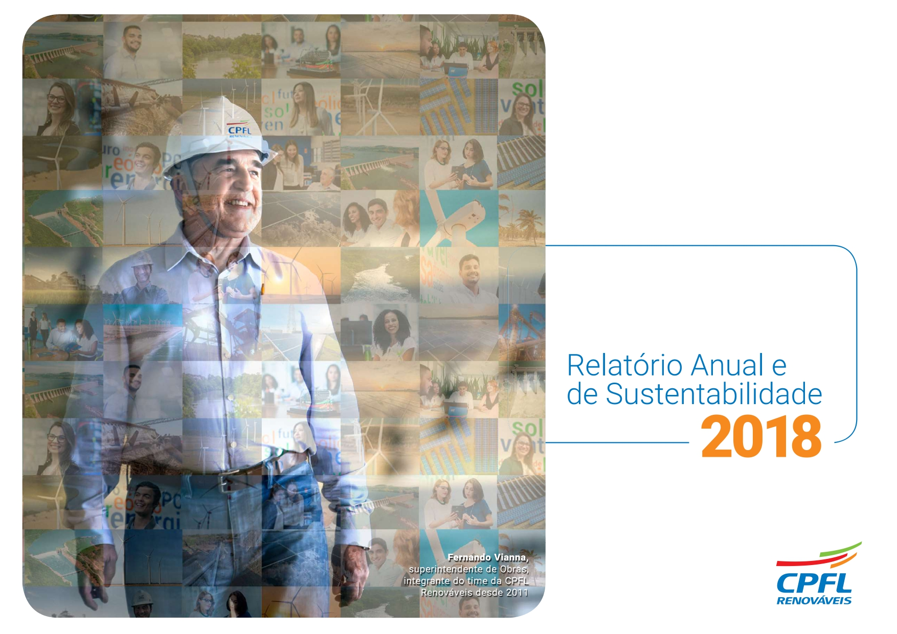 Capa relatório anual 2017
