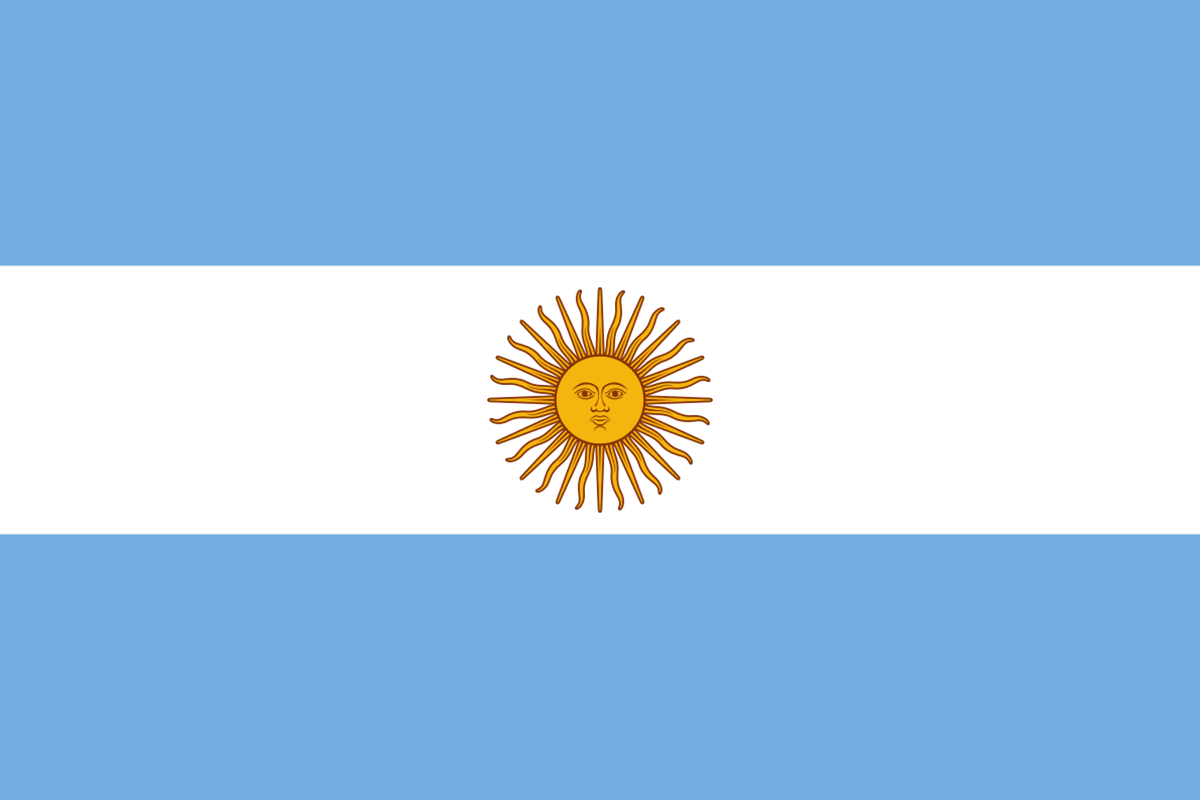Bandera de la Argentina