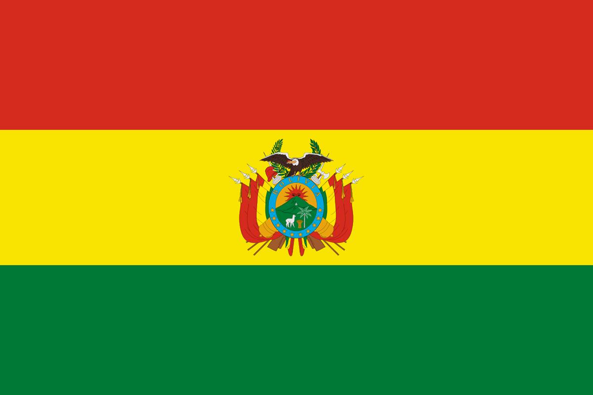 Bandera de la Bolivia